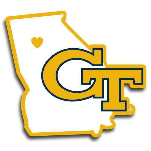 NCAA Georgia Tech Yellow Jackets Vinyl Grill Cover