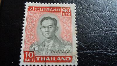 "2019 Mode Thailand Postage, ""freimarke König Bhumibol"" 5. Serie, 10 Baht, Gestempelt GroßE Sorten"