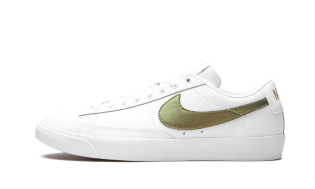 Size 9 - Nike Blazer Low Premium White Metallic Gold 2019 for sale ...