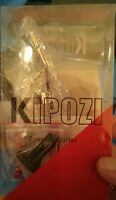 Kipozi Pro Eyelash Curler With Soft Silicone Refill Pads, Long-lasting ,natural