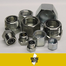 194 Pc Lot Orfs Cap And Plug Hydraulic Oring Fittings Bundle Sizes 4 16