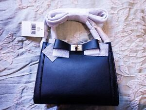 Mini Tullie tas Spade lederen Mayfair Kate Satchel Drive zwart v8Nnwm0O