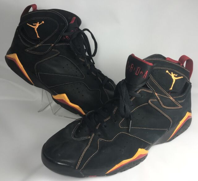 best service 58bed 0bfd4 2006 Nike Air Jordan VII 7 Retro Citrus Size 14 Black Red Yellow 304775-081
