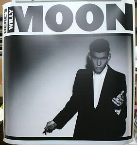 Details about WILLY MOON Heres Willy Moon Official RARE 36x36 DURATRANS  BACKLIT POSTER