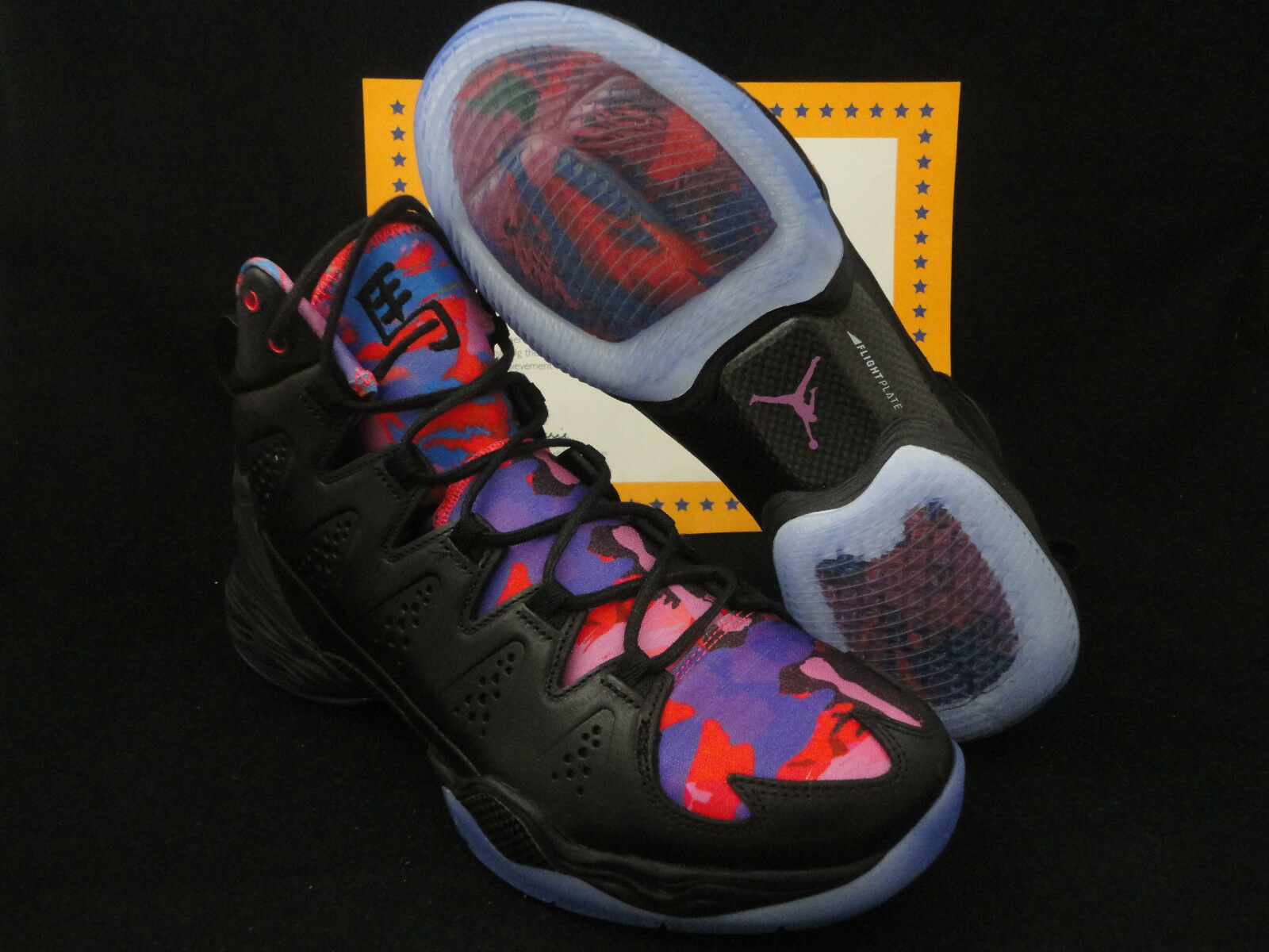 Nike Jordan Melo Melo Melo M10 YOTH, Limited Edition, Year Of The Horse, Size 14 cdb58a