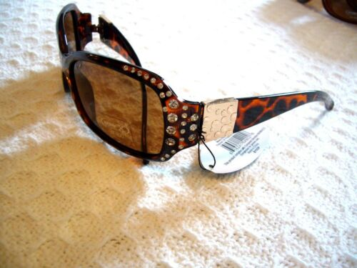 WOMEN/'S POLARIZED SUNGLASSES W// BIG RHINESTONES UV PROTECTION SOLAR~X BY03P