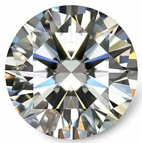 Real Loose Moissanite Genuine Round Cut Mix Color 3m To 8mm VVS Sale For Jewelry