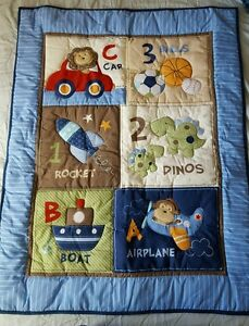 Garanimals Quilt and Crib Skirt