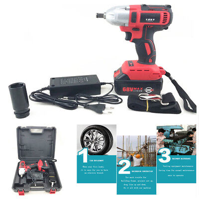 360 n.m Rechargeable Brushless Electric Wrench  Impact wrench 100-240V 7800Ah