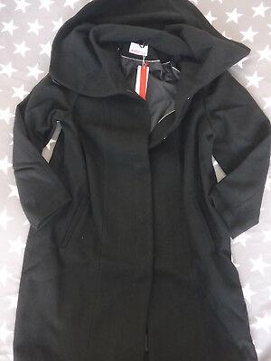 Sheego Kurzmantel Jacke Mantel Gr. 42 bis 58 Schwarz (423) hoher Kragen | eBay