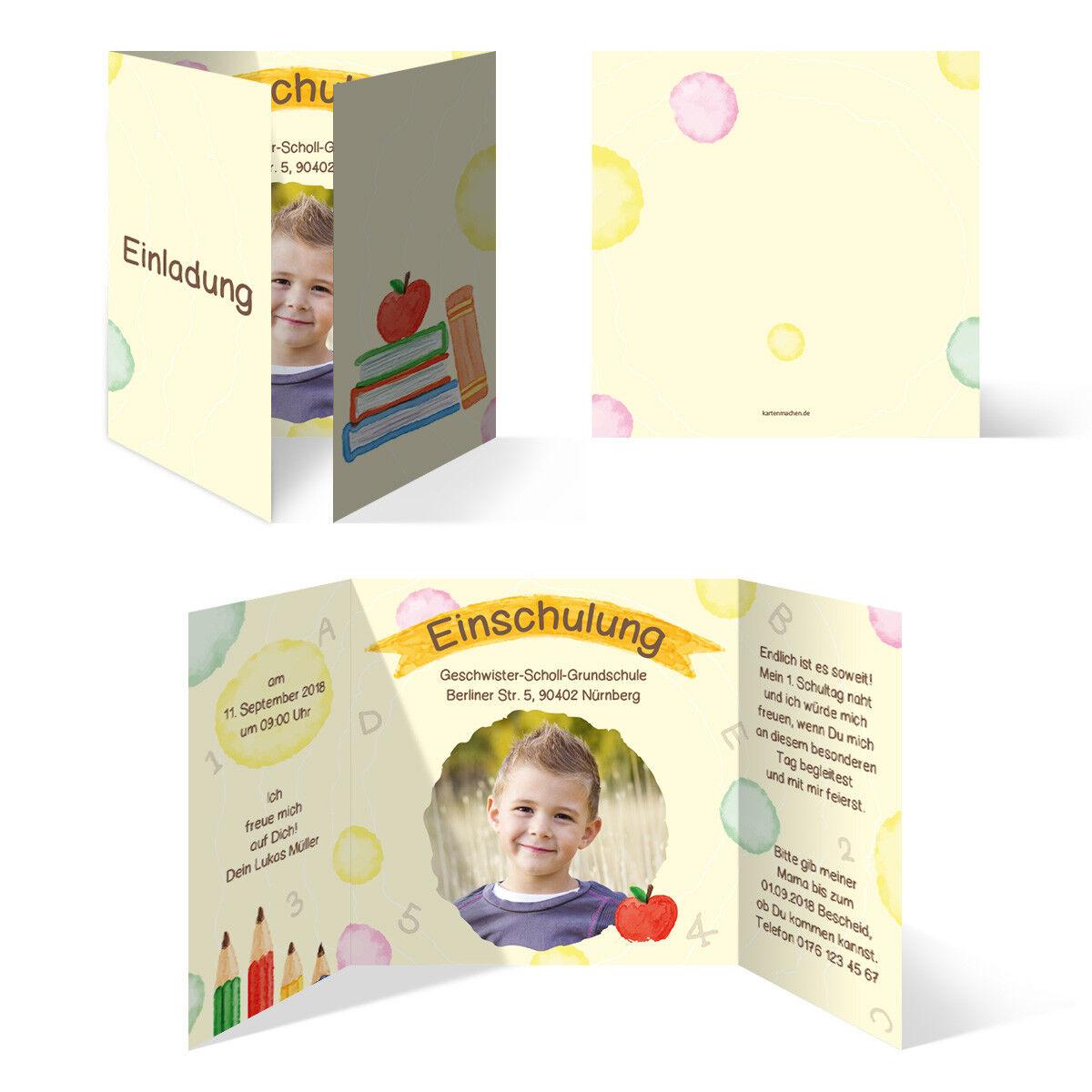 Einschulung Einladungskarten Einschulungskarten Schulanfang Set - Schulreif   | Marke  | Bestellungen Sind Willkommen