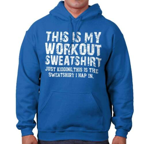 Funny Workout Sleep Gym Napping Lazy Gift Hoodies Sweat Shirts Sweatshirts