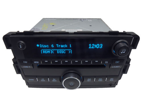 New Unlocked 2007 2008 Chevrolet Chevy Impala Monte Carlo OEM AM FM Radio MP3