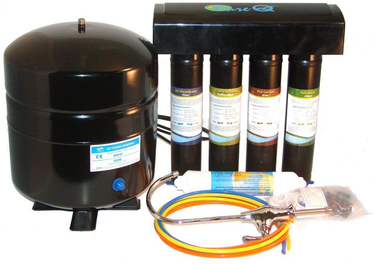 PRO-Q Osmose Inverse Système d'eau avec changement rapide Filtres - 50 Gotham Police Department