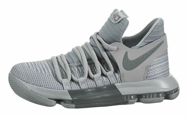 c0ddce131a1 Nike Zoom KD 10 GS Youth Sz 5y   6.5 WMNS Basketball Shoes Wolf Gray ...