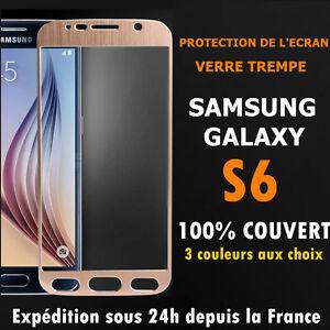 film-de-protection-ecran-VITRE-EN-VERRE-TREMPE-integral-total-Samsung-Galaxy-S6