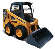 mustang 2060 2070 operator manual skid steer loader maintenance rh ebay co uk Mustang Skid Steer Specifications Mustang Skid Steer Attachments
