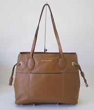 Michael Kors Large Marina Brown Drawstrings Tote Shoulder Handbag