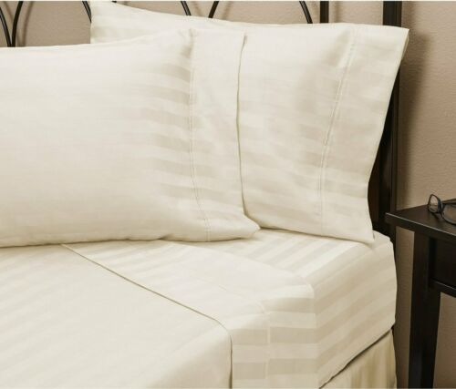 Luxurious 4 Pieces Sheet Set King Size 800 Thread Count Pure Egyptian Cotton