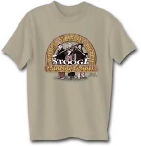 Three-Stooges-Hubting-Guides-Adult-T-Shirt