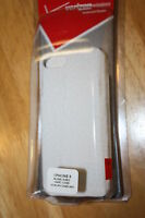 Apple Iphone 5 Rubberized Hard Cell Phone Case Cover White Verizon Brand