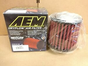 CLOSEOUT-AEM-REPLACEMENT-DRYFLOW-AIR-FILTER-3-5-034-INLET-5-034-LENGTH