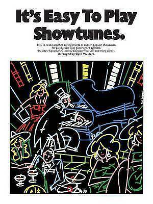 1 of 1 - It's Easy to Play Showtunes by Music Sales Ltd (Paperback, 2000)
