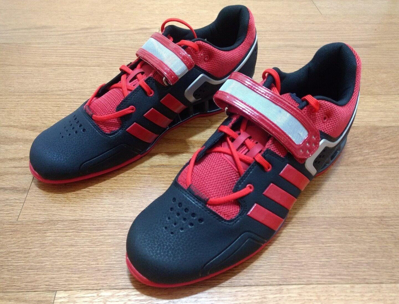 Männer adidas m21865 adipower crossfit krafttraining schuhe rot - schwarz m21865 adidas größe 15 53d3d2