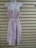 Vintage Stan Herman Terry Cloth Shower Wrap Robe (lilac) - 1x-