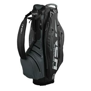 2020-Sun-Mountain-Golf-H2NO-Elite-Cart-Bag-Black-Grey