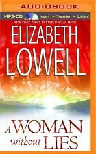 A Woman Without Lies by Elizabeth Lowell (2015, MP3 CD, Unabridged)