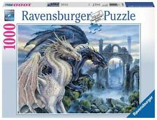 RAVENSBURGER JIGSAW PUZZLE MYSTICAL DRAGON 1000 PCS #19638