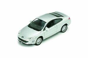 Vollmer-1638-H0-Peugeot-Coupe-407-silber-Fertigmodell-Neu-OVP