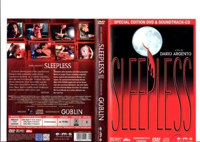 Sleepless (Special Edition) + Soundtrack CD / DVD #18481