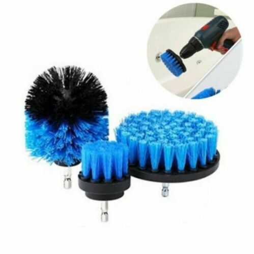 Pack of 3 Scrubber Cleaning Electric Drill Brush Cleaner Tool Kit Set