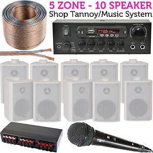 10x 60W Lautsprecher Laden Tannoy / PA & Karaoke system-bluetooth ...