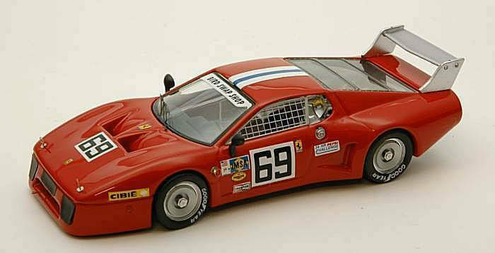 Ferrari 512 bb LM th 24 h Daytona 1980 Henn-Dieudonne' 1 43 Model