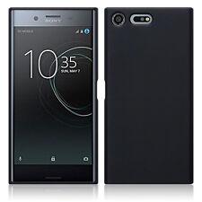 Sony Xperia XZ Premium..  Ballistic Impact Resistant Gel Bespoke Case Black Matt
