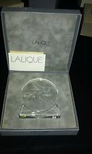 Rare Lalique Patineuse Motif Figure Skater Lalique Society of America 1992