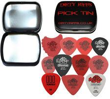 Dunlop Tortex Variety Pack - 22 x 0.50mm Guitar Picks / Plectrums In A Pick Tin