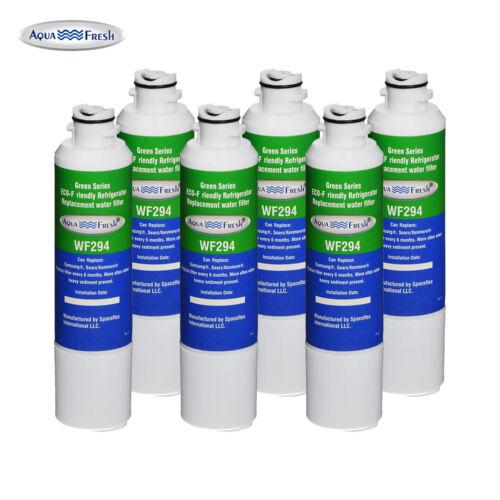 6 Pack Aqua Fresh Water Filter Fits Samsung RF23J9011SG Refrigerators