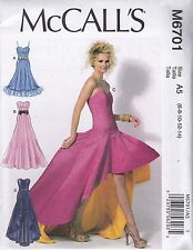 McCalls Mccall\'s 8836 Dress Cruise Sewing Pattern Prom M6701 6701 ...