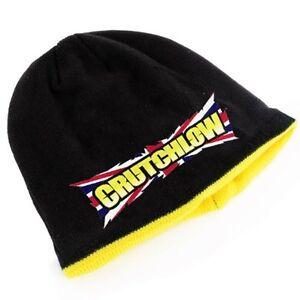 3479d246a29 Cal Crutchlow 35 Black Yellow Beanie Hat Union Jack UK British ...