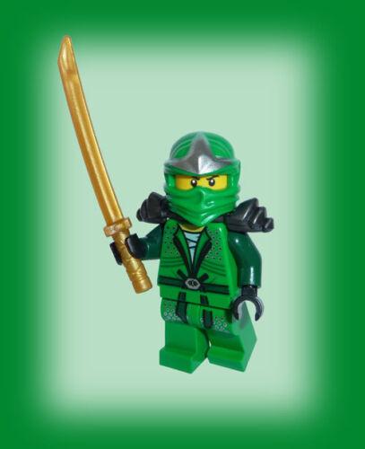 Waffenhalter Green Ninja LEGO® Ninjago grüner Ninja Lloyd ZX gold sword ஜஜ
