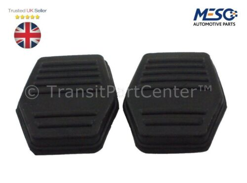 PAIR OF BRAND NEW BRAKE CLUTCH PEDAL COVER PAD RUBBER FORD TRANSIT MK6 2000-2006