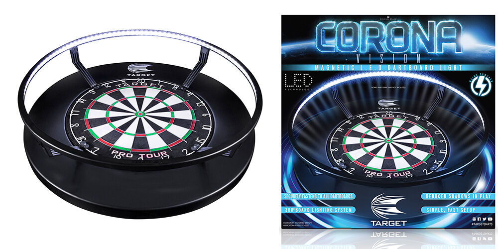 Target Cgoldna Vision Light 360 LED Dartboard Light