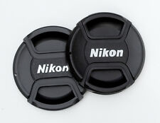 Nikon 58mm Lens Caps Centre Pinch. Two for the price of one. UK Seller