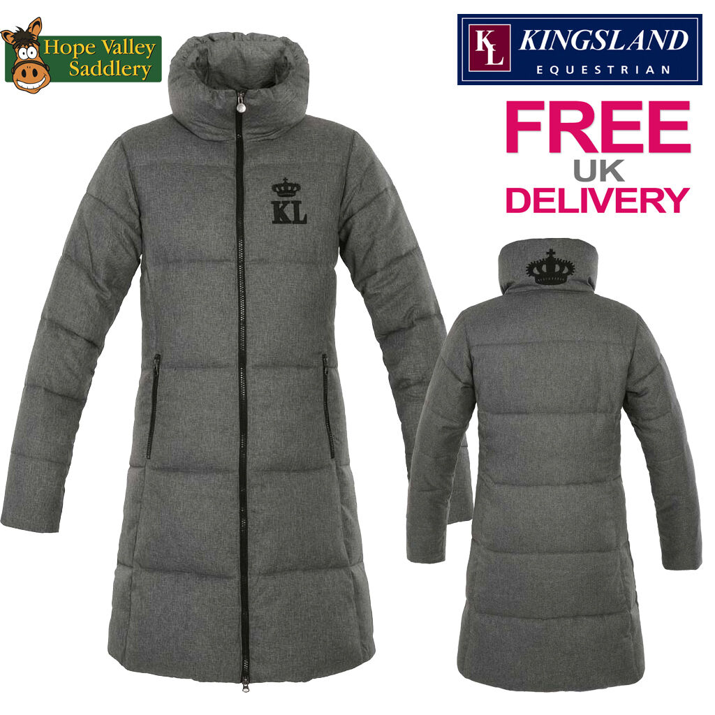 Kingsland Hillary Ladies Padded Long Coat (143-OW-611) FREE UK SHIPPING