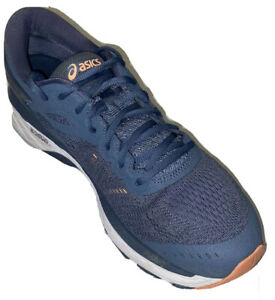 Asics-Gel-Kayano-24-T799N-Lace-Up-Blue-Running-Shoes-Women-039-s-Size-11