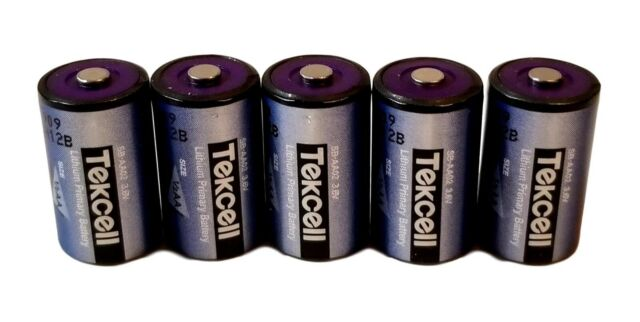 3.6 volt 1//2 size AA PRAM battery for vintage Macintosh